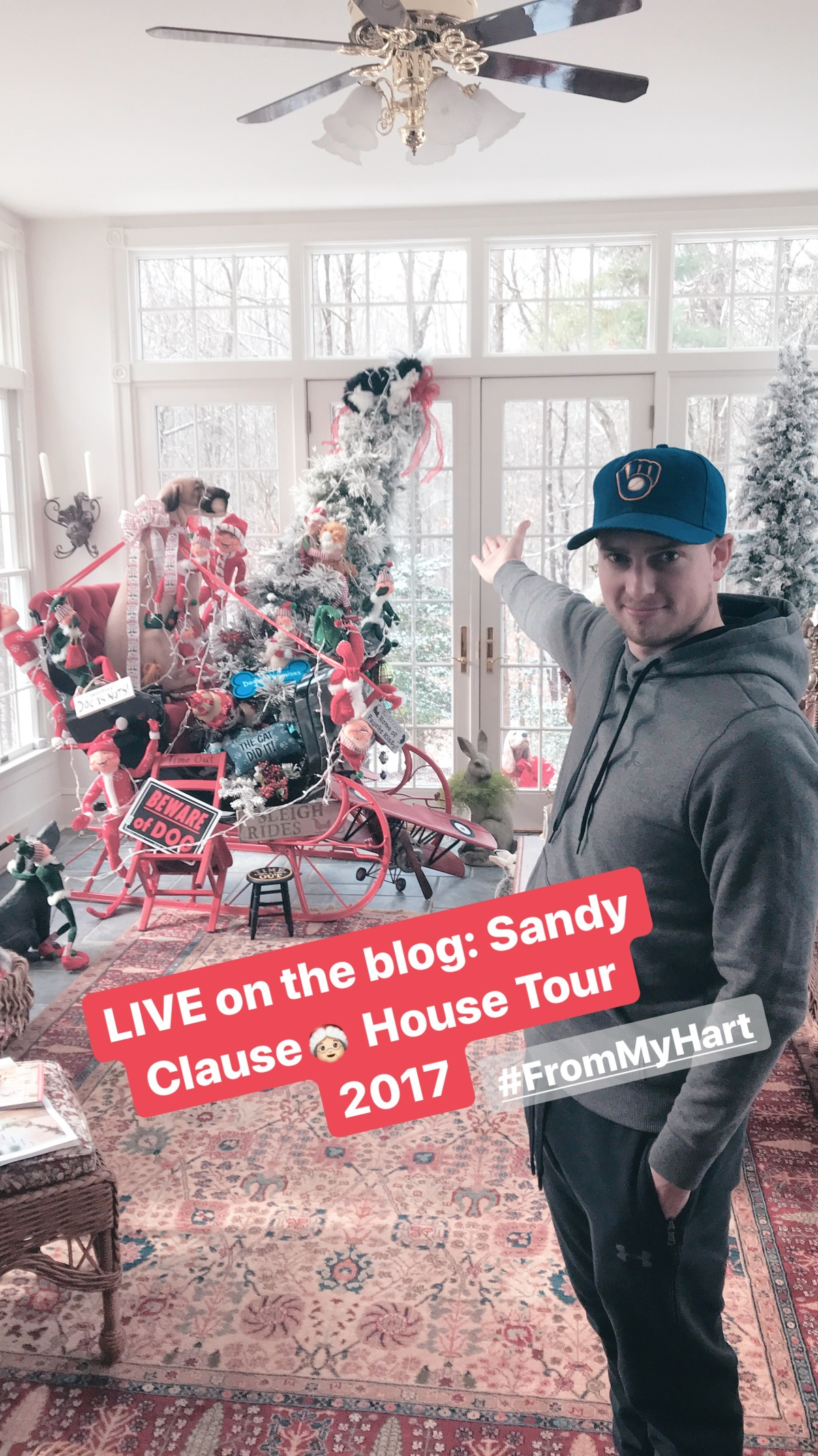 From my Hart: Sandy Clause- 2017 Edition