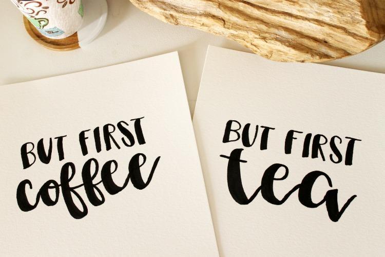 From my Hart: Coffee orTea